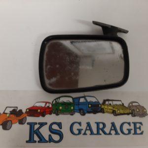 Buitenspiegel Golf MK1 zwart rechts