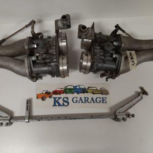 Solex Dubbele carburateur 40 PM P II Boxermotor