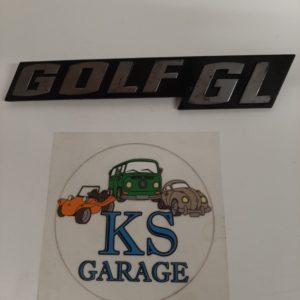 Embleem Golf GL