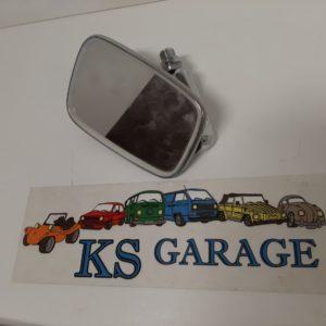 Buitenspiegel rechts RVS Kever ->'68 en 1500/1600