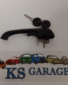 Voordeur handvat zwart T2b. KS Garage gebruikte VW onderdelen