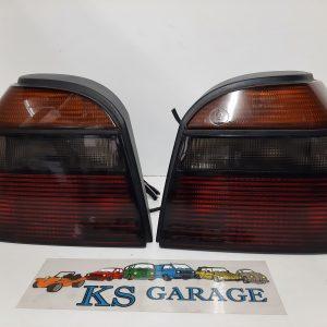 Achterlichten set Golf 3 GTI smoke 1h6945111 1h6945112